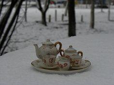 'Tea Party in the Snow' by Sanja Šurlan