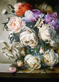 """Saatchi Art Artist Leon Art; Painting, """"The Peace Poem"""" #art"""