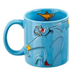 Aladdin mug Wake Up Disney Mugs & tasses - Magic Heroes Disney Coffee Mugs, Disney Mugs, Cute Coffee Mugs, Coffee Cups, 27 Birthday Ideas, Voyage Disney, Aladdin Mugs, Book Week Costume, Disney Pixar