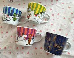 Moomin Mug Tea Cup Limited Edition at Only KFC Japan Set of 4 | eBay