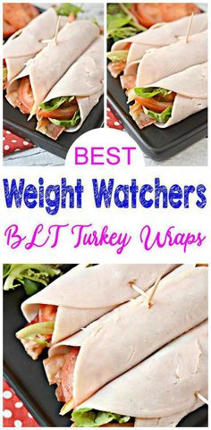 Super easy Weight Watchers recipe with these Weight Watchers turkey BLT wraps with avocado mayo! These Weight Watchers turkey wraps make a great lunch or dinner. I love these turkey meat roll ups are a no tortilla version – they are super tasty. Weight Watchers Snacks, Weight Watcher Wraps, Weight Watchers Smart Points, Weight Watcher Dinners, Weight Watchers Chicken, Weight Loss, Lose Weight, Ww Recipes, Lunch Recipes