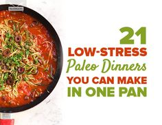 21 Low-Stress Paleo Dinners You Can Make in One Pan