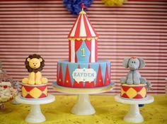 Circus Cake this so cute