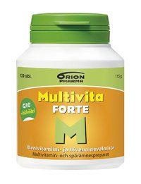 Multivita Forte - Vitamin supllement for seniors -Orion Oyj - Apteekkituotteet.fi
