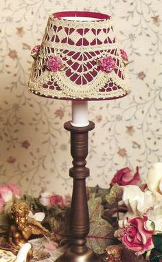 Crochet Pattern for a LITTLE LAMPSHADE