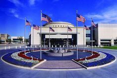 George H.W. Bush Presidential Library in College Station Texas.