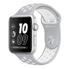 Apple Watch Nike+ 38 mm Plata con envío gratis en @MAXmovil