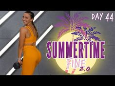 30 Minute Butt and Abs Bootcamp Workout | Summertime Fine 2.0 - Day 44 - YouTube Boot Camp Workout, Butt Workout, Gym Workouts, At Home Workouts, Gym Workout For Beginners, Daily Home Workout, Workout Videos, Weight Loss Workout Plan, Weight Training