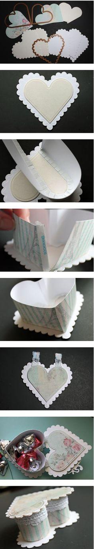 1000 images about cajitas de regalo on pinterest gift - Como forrar una caja con tela ...