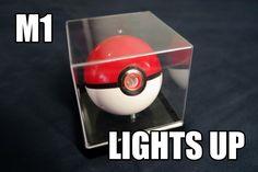 Pokemon Pokeball Toy Mod - M1 by ThePhoenixOrbProject on Etsy https://www.etsy.com/listing/217658240/pokemon-pokeball-toy-mod-m1