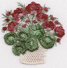 Brazilian Embroidery | brazilian embroidery pattern stitched with edmar rayon brazilian ...