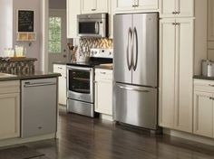 More discounts and Home Depot coupons for free Home Depot Coupons, Neutral Kitchen, Insurance Comparison, Tuscan House, French Door Refrigerator, Living Spaces, Kitchen Appliances, Home Decor, Key