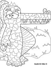 Great (free) coloring pages for kids of all ages!
