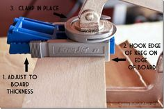How to Make Book Ledges with a Kreg Jig®