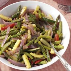 Sauteed Spring Vegetables Recipe from Taste of Home -- shared by Billy Hensley of Mount Carmel, Tennessee