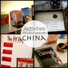 "Picture books and lessons for your unit on China-- perfect for Chinese New Year and an ""around the world"" unit"