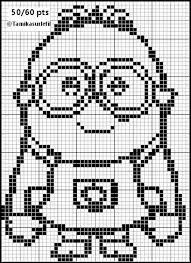 Minions, Diy And Crafts, Arts And Crafts, Filet Crochet Charts, Loom Weaving, Crochet Doilies, Cross Stitching, Beading Patterns, Couture