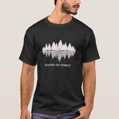 Sound of Forest Nature Themed T-Shirt   #tshirts #goat #sheep camping ideas, camping checklist, camping with kids, back to school, aesthetic wallpaper, y2k fashion Camping Gifts, Camping Checklist, Camping With Kids, Aesthetic Wallpapers, Back To School, Nature, T Shirt, Tee, Entering School