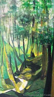 The little bush lot, Hokianga by Louise Henderson