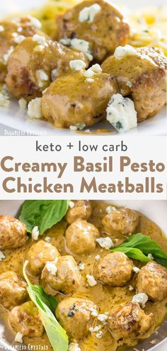 Chicken Meatball Recipes, Healthy Chicken Recipes, Keto Chicken, Keto Recipes, Diabetic Recipes, Healthy Food, Healthy Eating, Healthy Lunches, Sausage Recipes