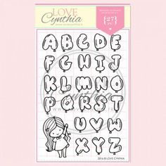 High Quality Photopolymer Clear Stamp Set Designed in France. Made in the U.K. It is a 4x6 stamp set with Cynthia Renard's original illustrations and happy sentiments.It is designed to inspire and motivate you daily. Perfect for your planning, journaling and crafting needs.