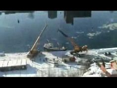 Some scary ship and boat launch videos