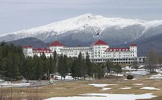Mt.Washington Hotel, New Hampshire. I've investigated this hotel twice, (with the Ghost Hunters Crew) and YES it is actively haunted! (and it is GORGEOUS)