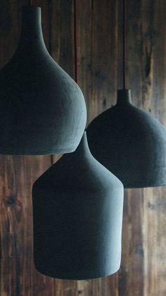 Concrete pendant lamps by namuh #ConcreteLamp
