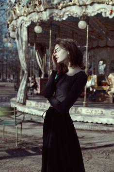 portraits of Misty in Paris on Behance