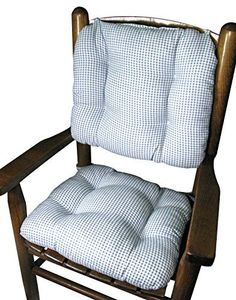 Our pint-sized child rocker cushion sets are made to the same old-fashioned standards of quality as our famous adult rocker cushions. Since 1889, Barnett Products home decor items have been made with superior materials and construction techniques. We fill each cushion with mattress-grade... more details available at https://furniture.bestselleroutlets.com/children-furniture/chairs-seats/rocking-chairs/product-review-for-barnett-child-rocking-chair-cushion-set-madrid-light-blu