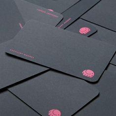 Rounded Corner Business Cards: 40 Modern Designs