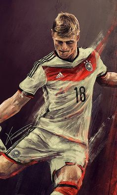 Toni Kroos by Kim Christensen