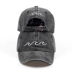 2018 new design dad hats women men sea wave baseball cap high quality unisex  fashion dad hats new sports hats b3b283a0bab3