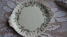 "Royal Albert Bone china cake plate ""Brigadoon"""