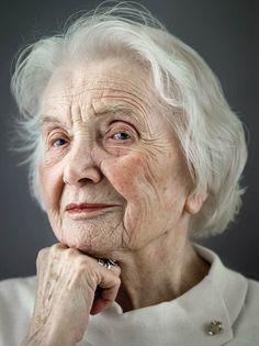 'Happy at Hundred' – Beautiful Portraits of People Who are 100 Years Old