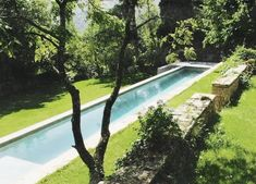 Lap pool Cote Sud magazine