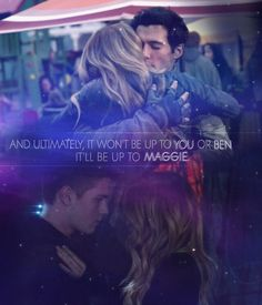It'll be up to Maggie ~ Falling Skies