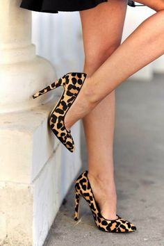 leopard shoes- these ones are cute. Hard to find cute and comfy ones. Would look great with all my black