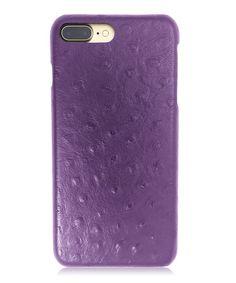 7bc01cf38c2af Burkley Case Genuine Leather Snap-on Case for Apple iPhone 8 Plus   7 Plus