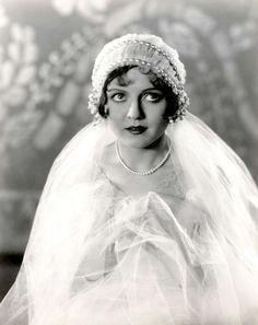 Nancy Carroll, 1930s. #vintagebride