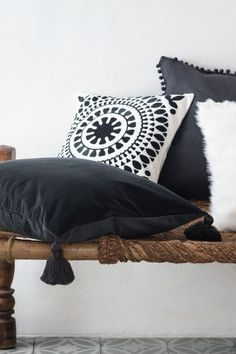 Embroidered cushion cover £12.99 H&M
