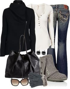 """""""Winter Casual"""" by averbeek on Polyvore"""