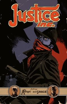 JUSTICE INC. 3 Cover Art by Francesco Francavilla