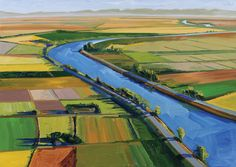 "Gregory Kondos paints our Sacramento Valley with a magnificent hand, a keen eye and an enduring love. Joyous.   I am grateful to have met him and had the privilege of ""talking art"" with him."