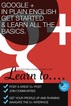 A basic introduction to Google plus for new bloggers.