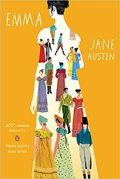"Read ""Emma Annotated Edition (Penguin Classics Deluxe Edition)"" by Jane Austen available from Rakuten Kobo. **The culmination of Jane Austen's genius, a sparkling comedy of love and marriage—now in a stunning P. Book Cover Art, Book Cover Design, Book Design, Design Design, Print Design, Emma Jane Austen, Jane Austen Novels, Jane Eyre, Flower Illustrations"