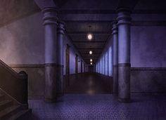 Hall, Background, Anime Background, Anime Scenery, Visual Novel Scenery, Visual Novel Background