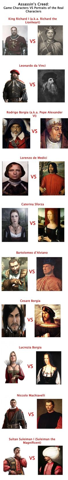 Assassin's Creed Characters - funny pictures #funnypictures