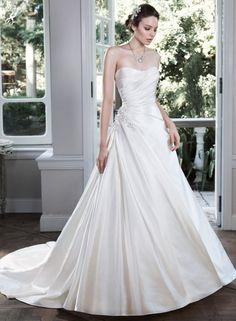 baby doll wedding dress empire waist chiffon bling bodice spaghetti ...