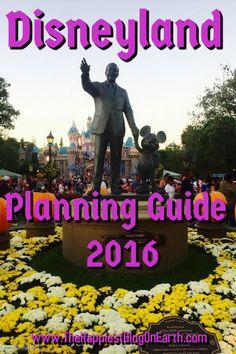Disneyland 2016 Planning Guide, month-by-month break down, tips for planning ahead and Disneyland discounts.